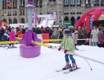 snow+promotion liefert Schnee