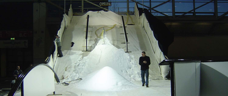 snow+promotion bietet hochwertiges Eventmaterial wie Drainage Matten und Schneeteppiche