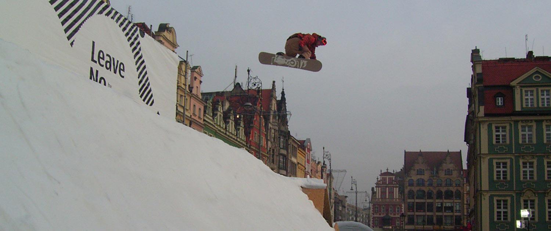 Schneeproduktion für Ski und Snowboard