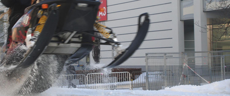 Mit Hilfer der SnowBOX produzieren Sie Schnee zu jeder Jahreszeit